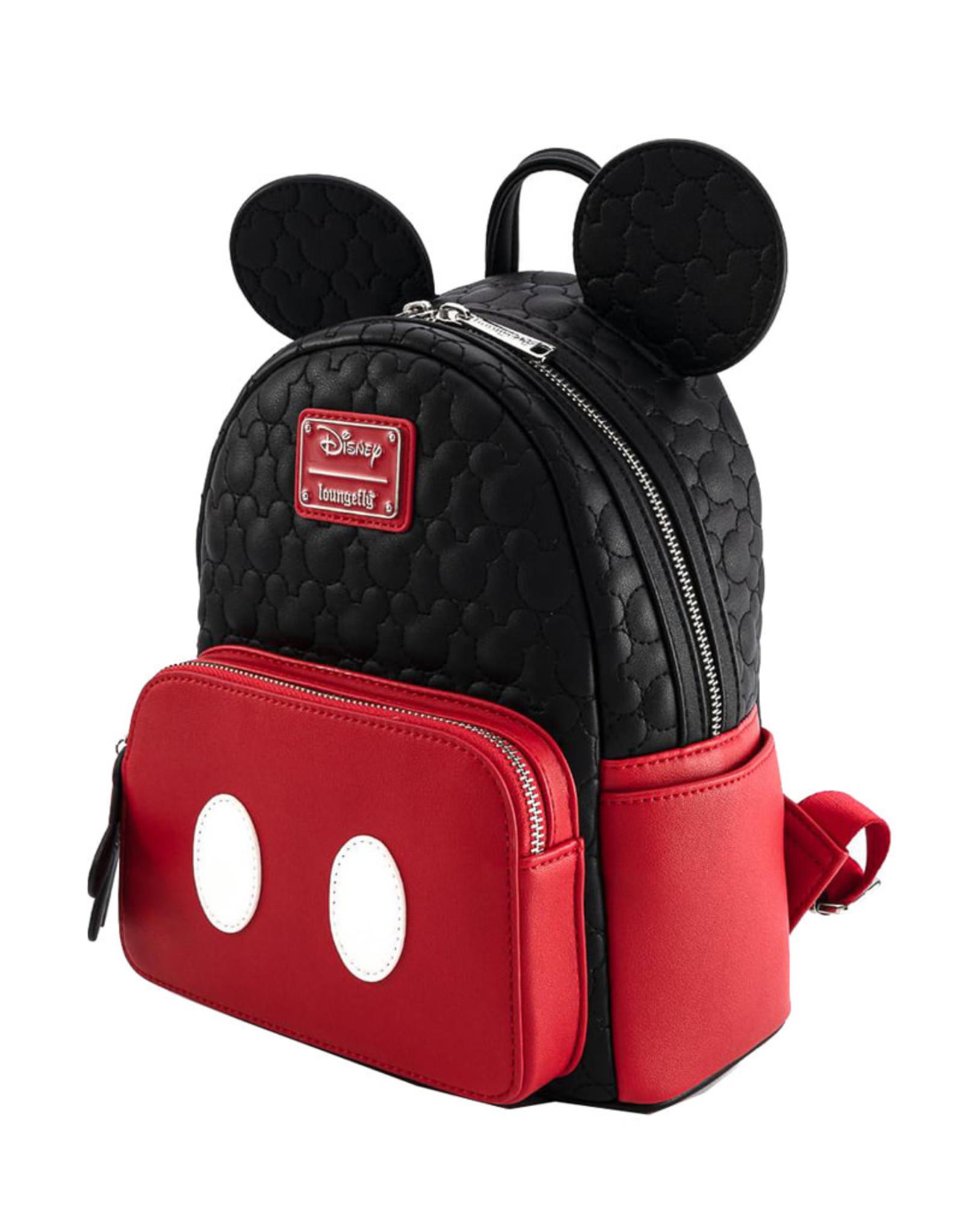 Disney Disney ( Loungefly Mini Backpack ) Mickey Mouse OH BOY !