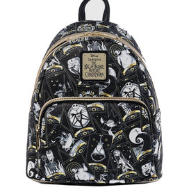 Disney The Nightmare Before Christmas ( Loungefly Mini Backpack) Tarot Card