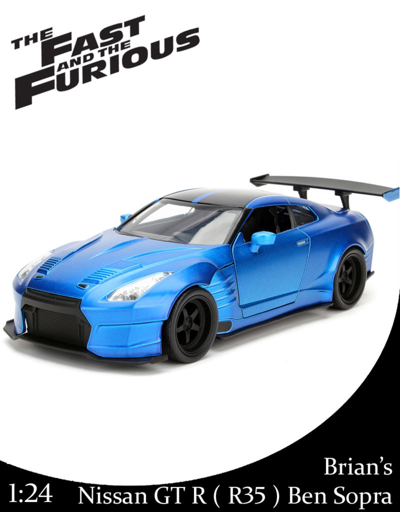 Fast & Furious ( Die Cast 1:24 ) Brian's GTR Ben Sopra