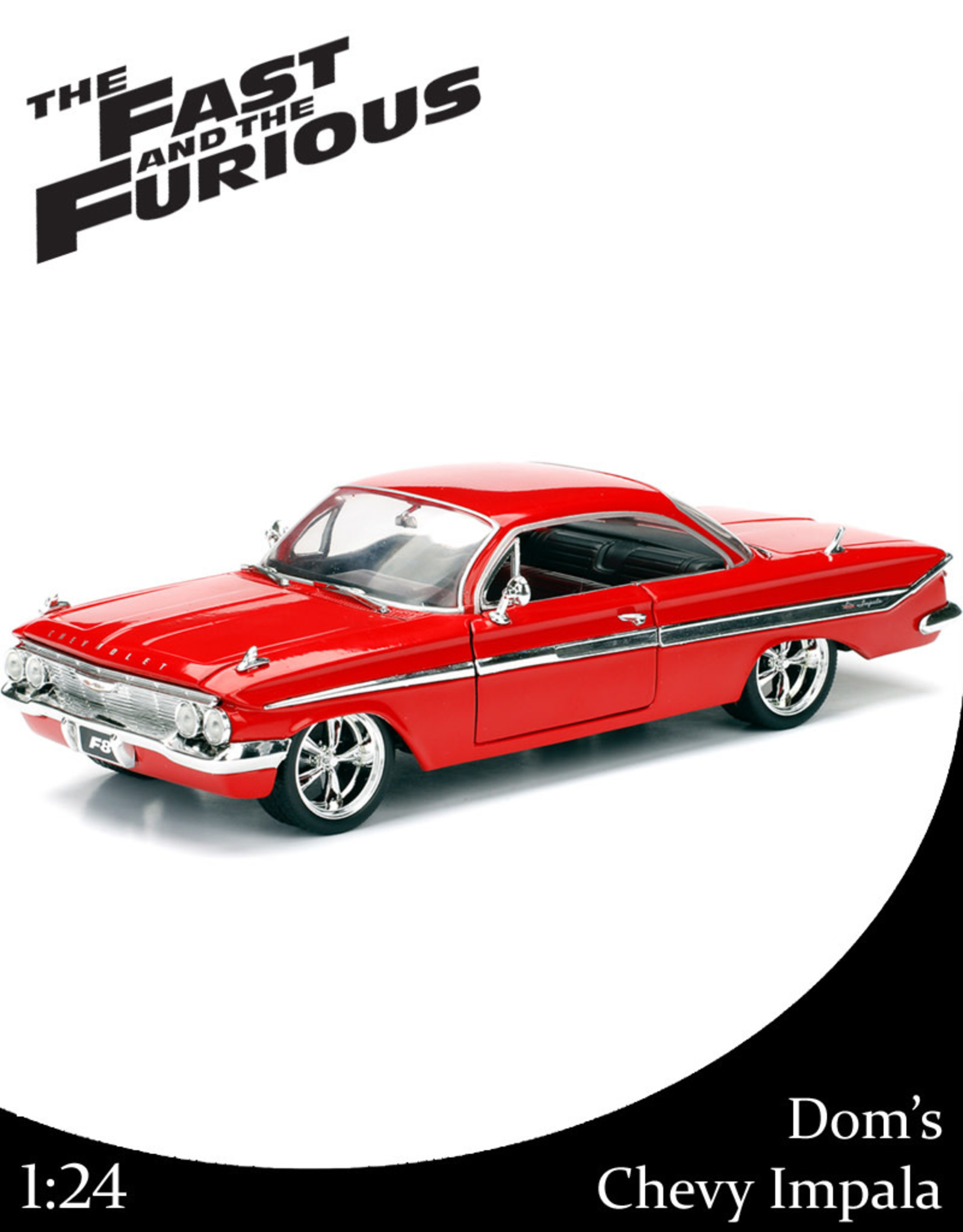 Fast & Furious ( Die Cast 1:24 ) Dom's Chevy Impala