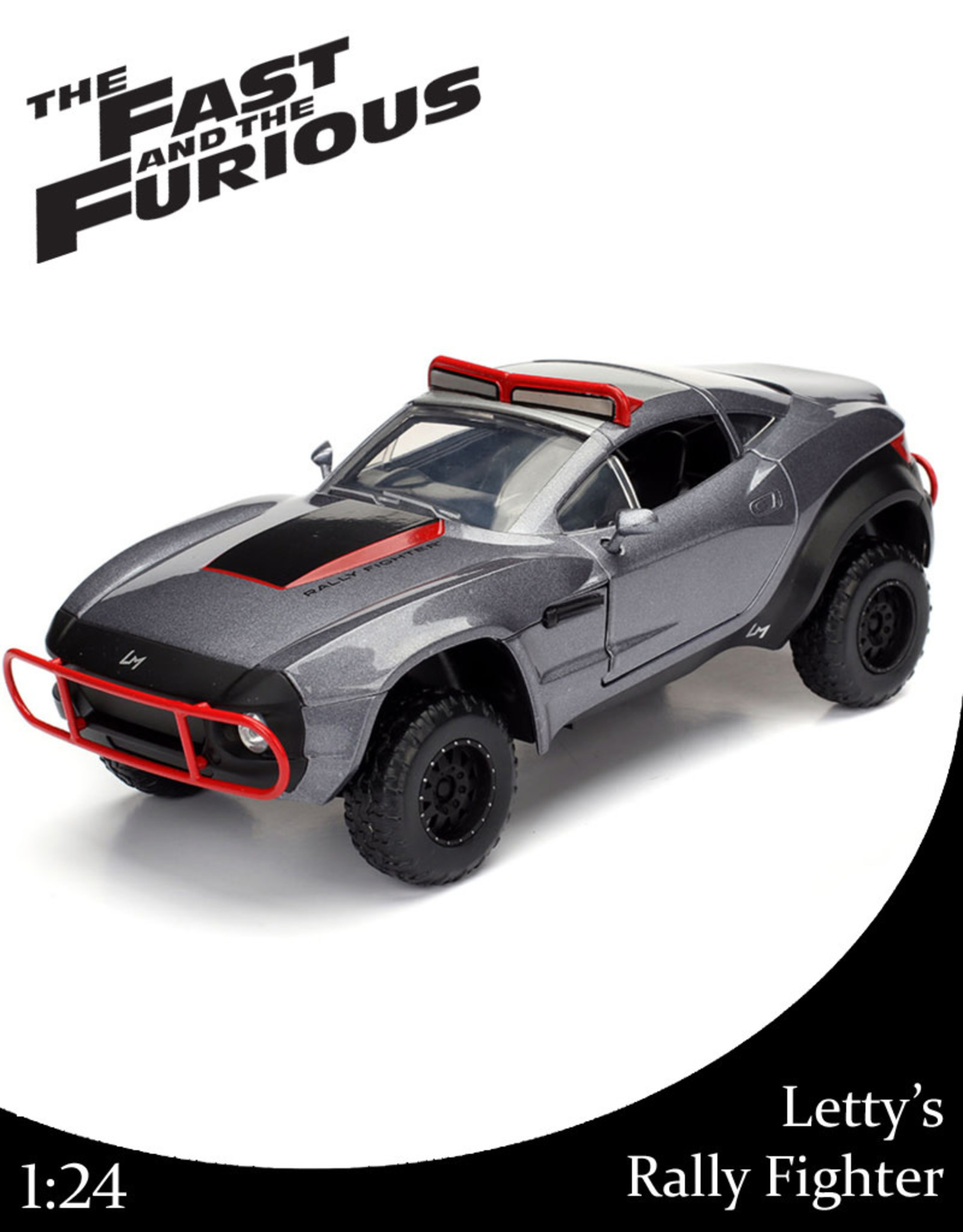 Fast & Furious ( Die Cast 1:24 ) Letty's Rally Fighter