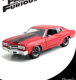 Fast & Furious ( Die Cast 1:24 ) Dom's Chevy Chevelle