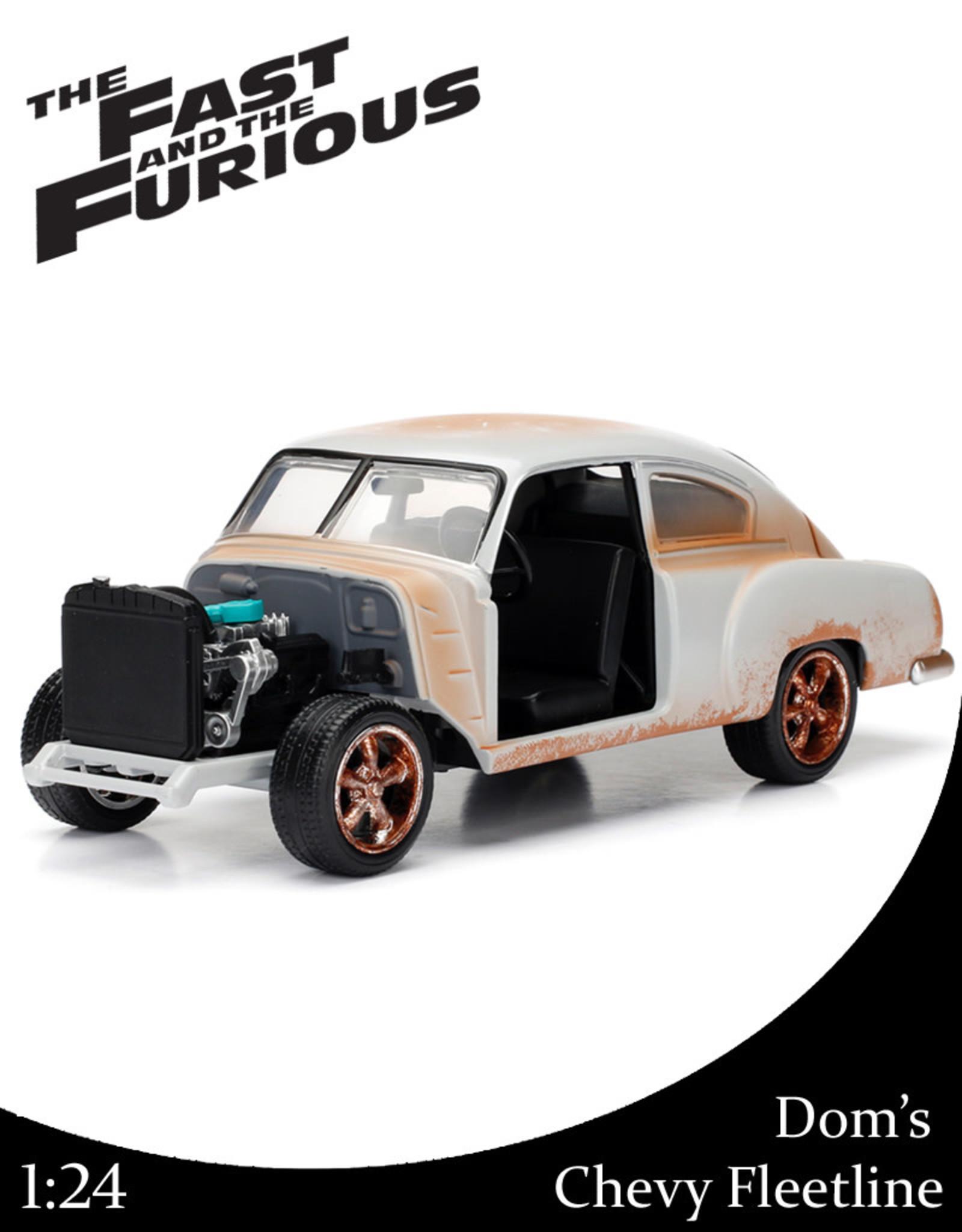 Fast & Furious ( Die Cast 1:24 ) Dom's Chevy Fleetline