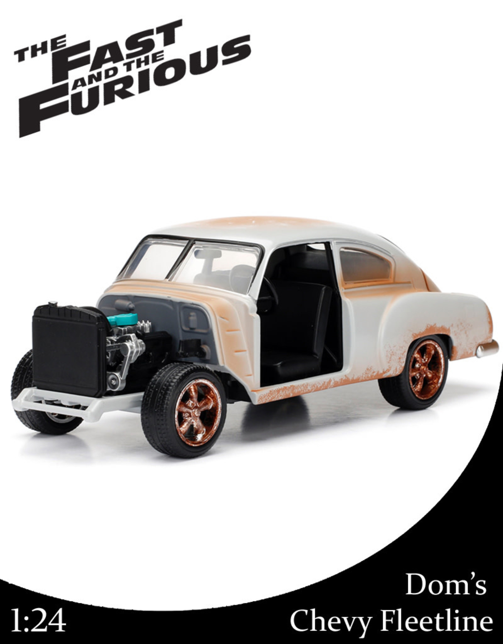 Fast & Furious ( Die Cast 1:24 ) Dom's  Chevy Fleetline