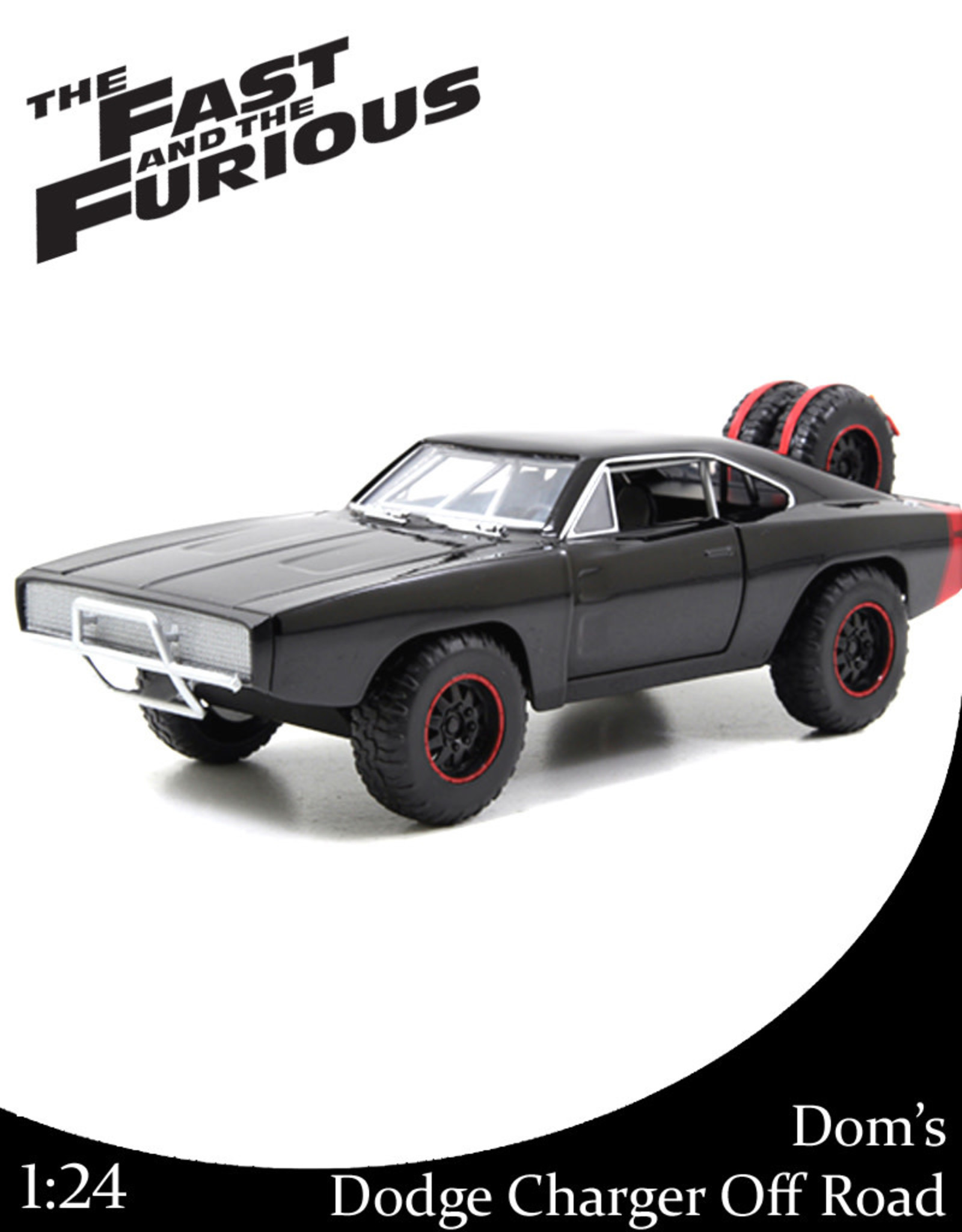 Fast & Furious ( Die Cast 1:24 ) Dom's Dodge Charger R/T