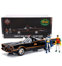 Dc comics Dc Comics Batman ( Voiture de collection en métal 1:18 ) Series TV Classique Batmobile