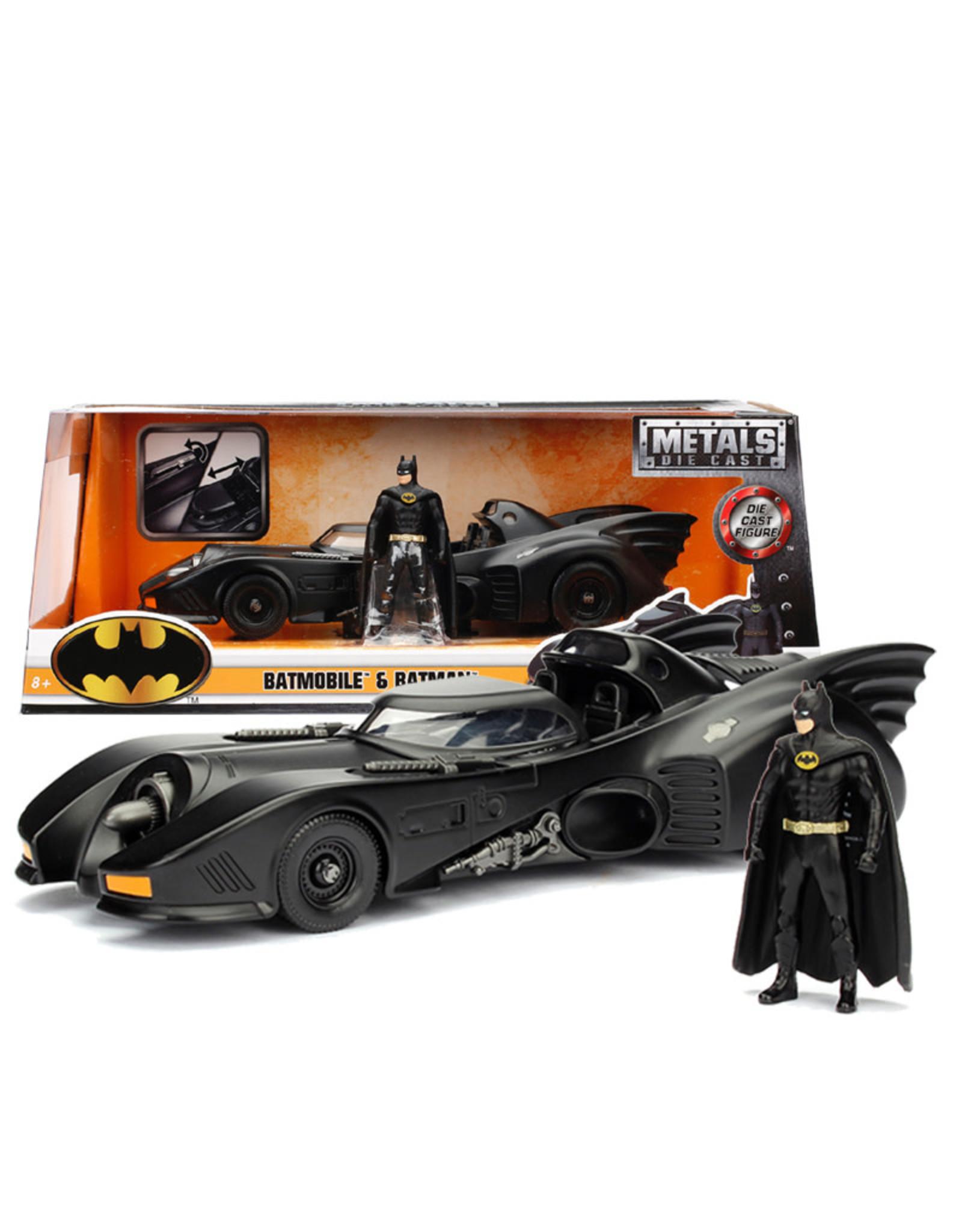 Dc comics Dc Comics Batman ( Die Cast 1:24 ) 1980 Batmobile