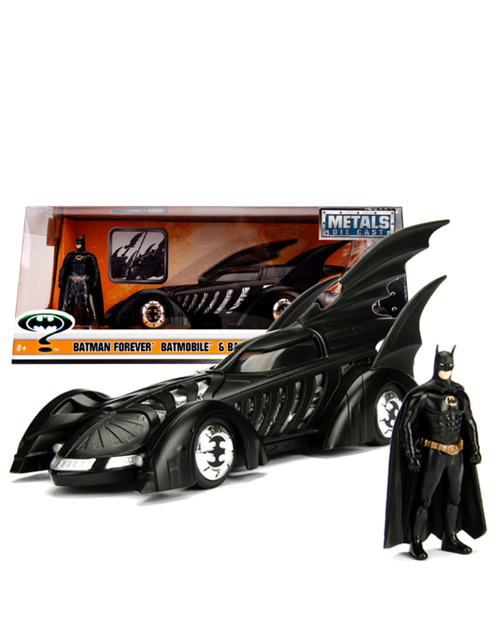 Dc Comics Batman ( Die Cast 1:24 ) Forever Batmobile