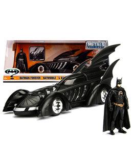 Dc Comics Batman ( Die Cast 1:24 ) Forever Batmobile