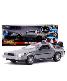 Back To The Future 2 ( Die Cast 1:24 ) Time Machine Delorean