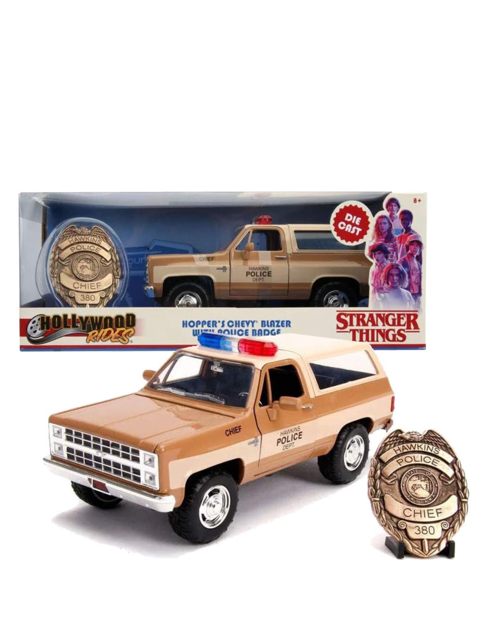 Stranger Things( Die Cast 1:24 ) Hopper's Police car