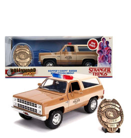 Stranger Things ( Die Cast 1:24 ) Hopper's Police car