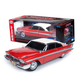 Christine ( Voiture de collection en métal 1:18 ) Plymouth Fury 1958