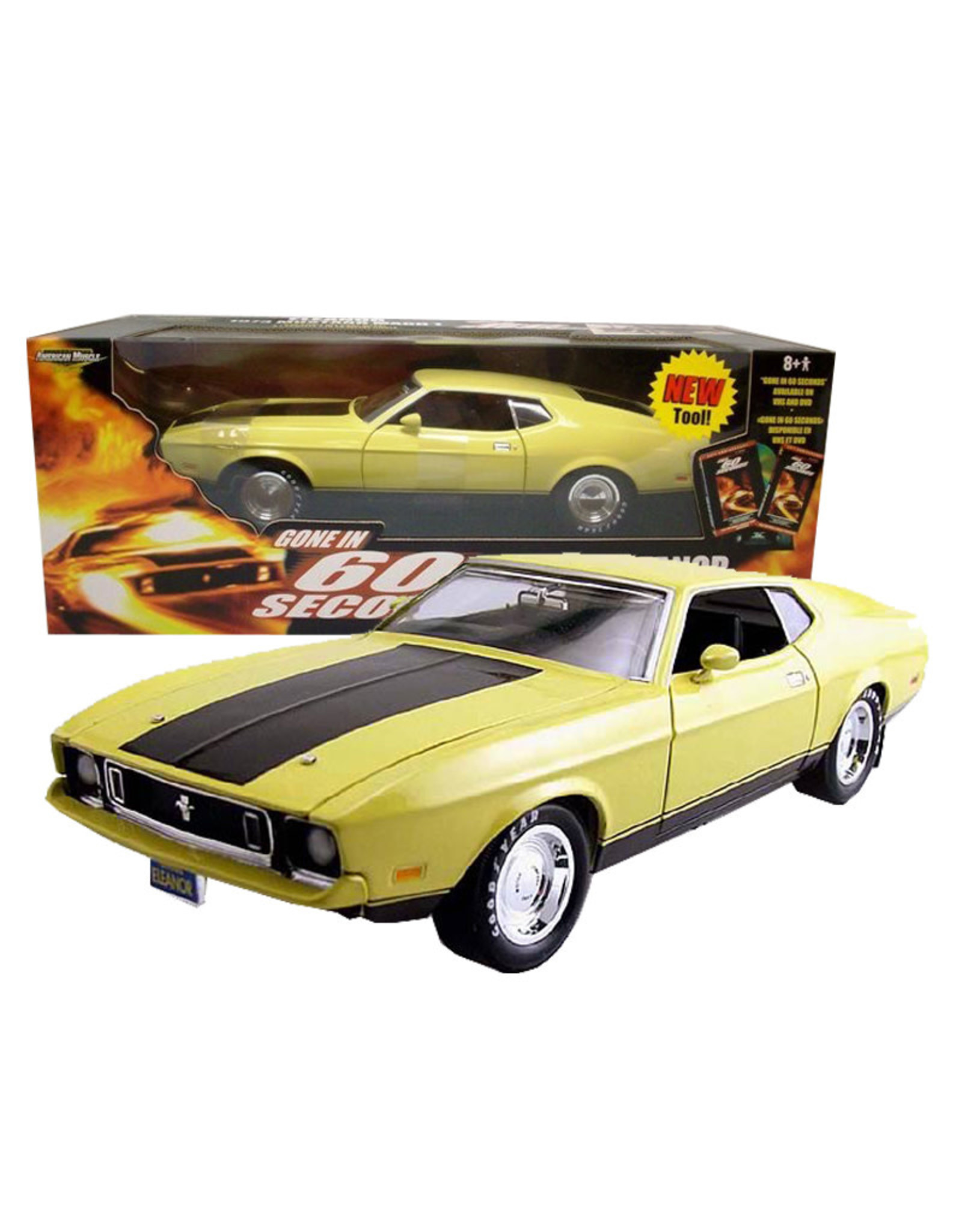 Gone in 60 Seconds ( Die Cast 1:18 ) Eleanor Ford Mustang
