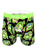 Boxer ( Good Luck Undies ) Rick And Morty Portals