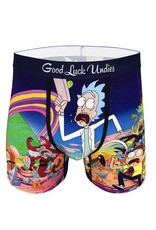 Boxer ( Good Luck Undies ) Rick And Morty '' Run Away  ''