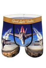 Boxer ( Good Luck Undies ) Hornet Combat Jet