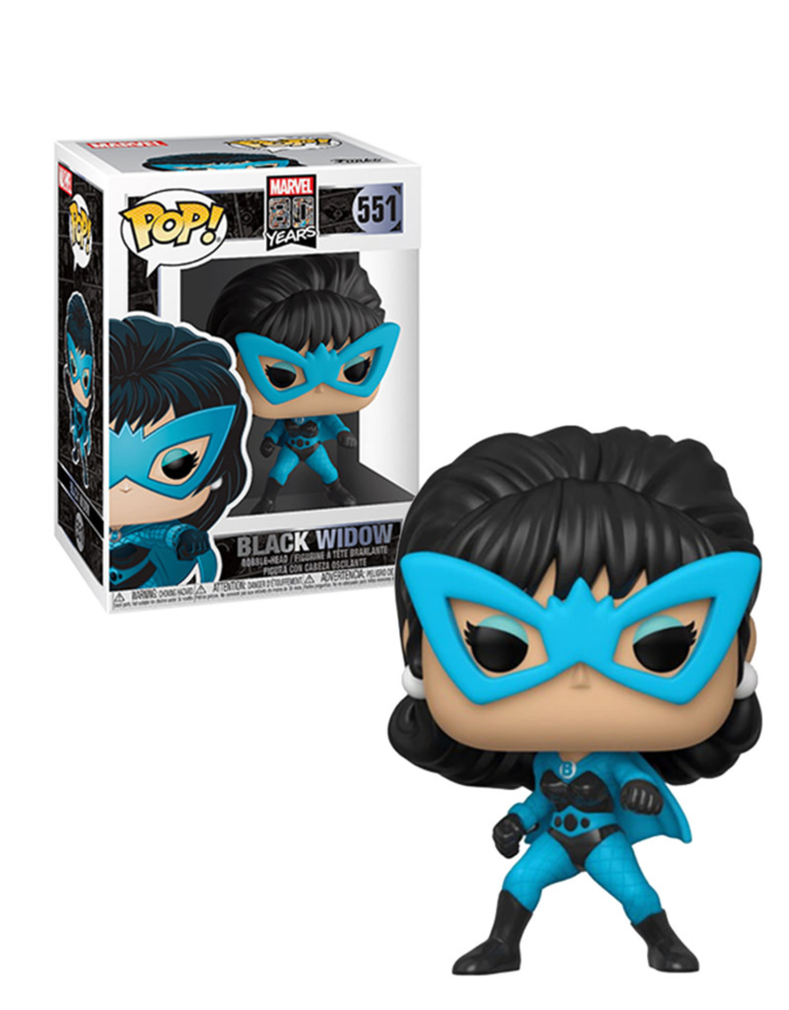 Marvel Marvel 80 Years 551 ( Funko Pop ) Black Widow