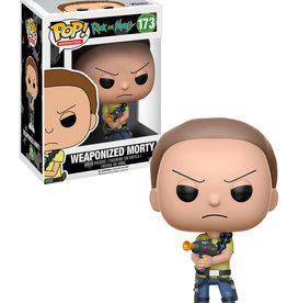Rick and Morty Rick and Morty  173 ( Funko pop ) Weaponized Morty