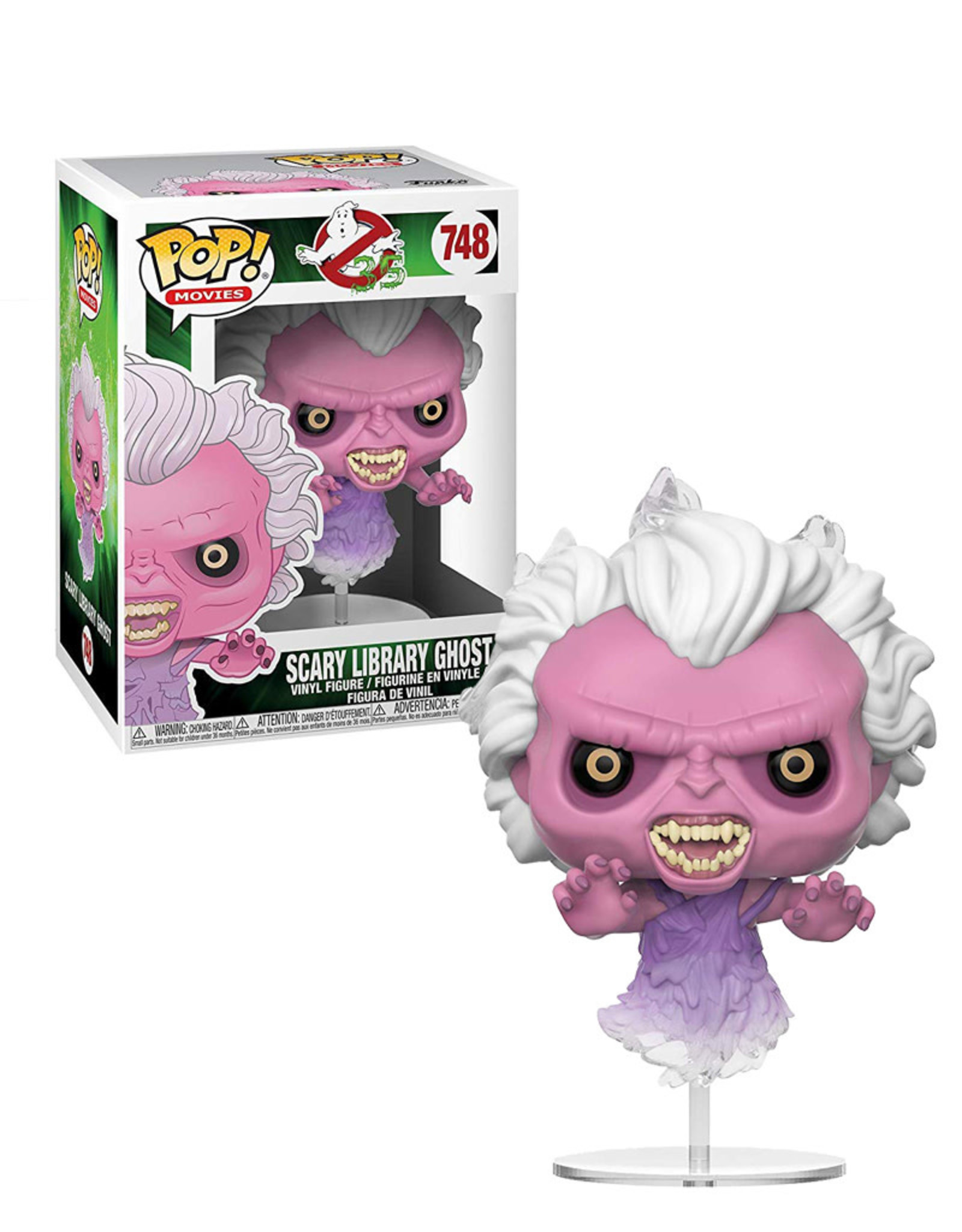 Ghostbusters 748 ( Funko Pop ) Scary Library Ghost