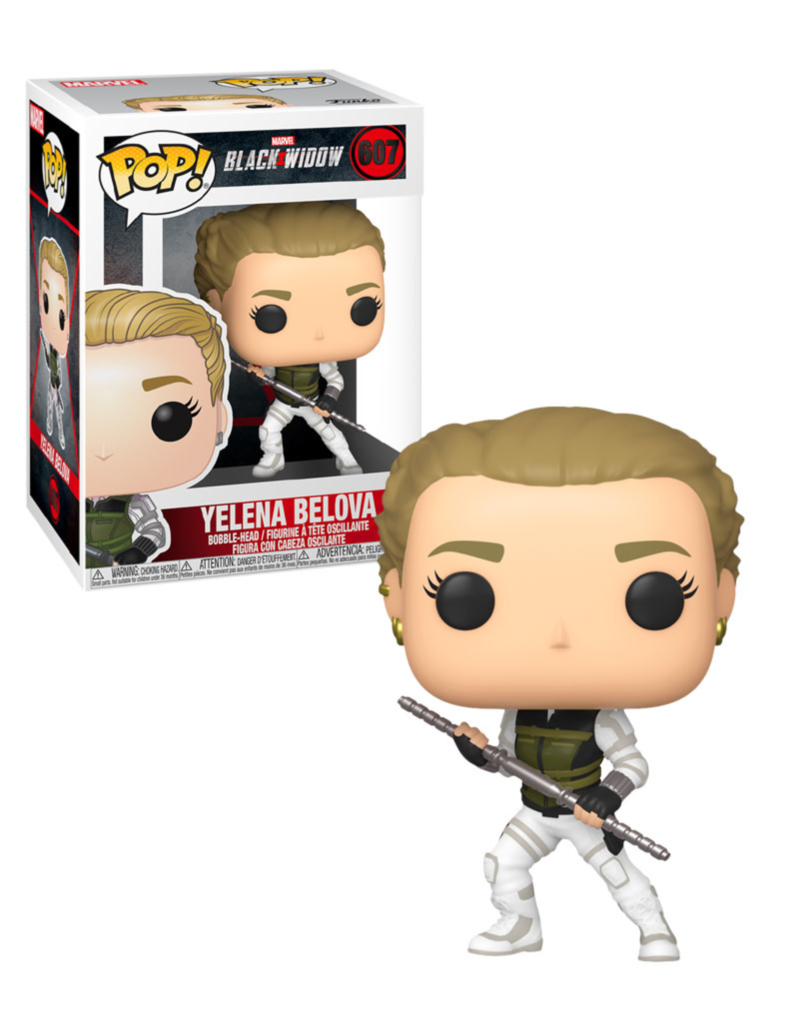 Black Widow 607 ( Funko pop ) Yelena Belova