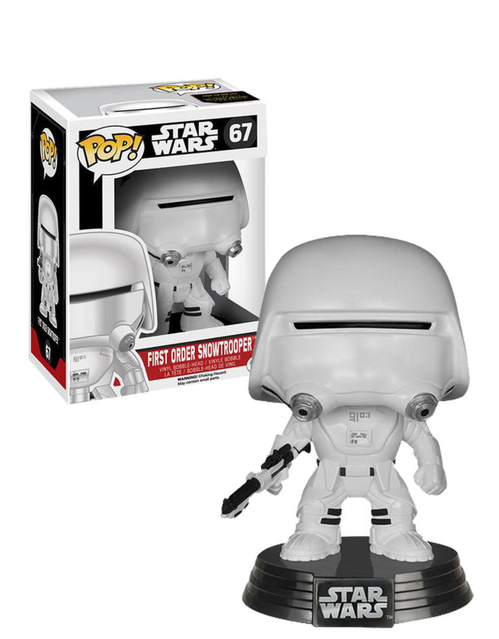 Star Wars Star Wars 67 ( Funko Pop ) First Order Snowtrooper