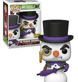 Dc Comics 367 ( Funko Pop ) The Penguin Snowman