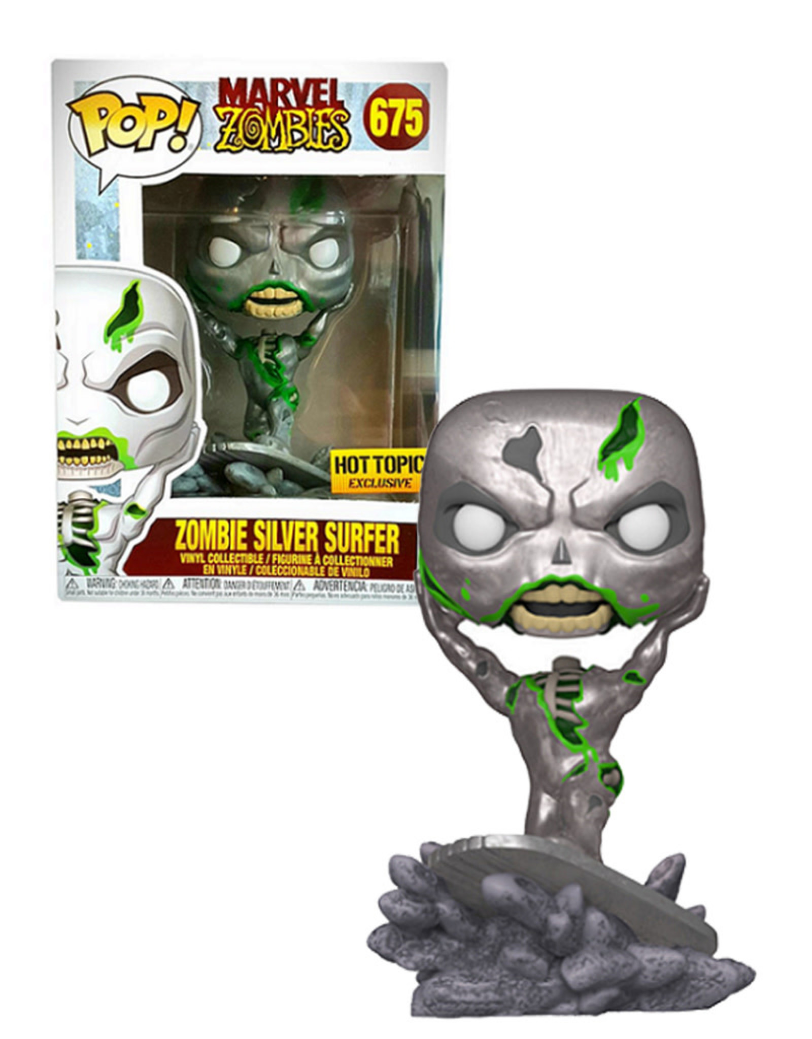 Marvel Marvel Zombies 675 ( Funko Pop ) Zombie Silver Surfer