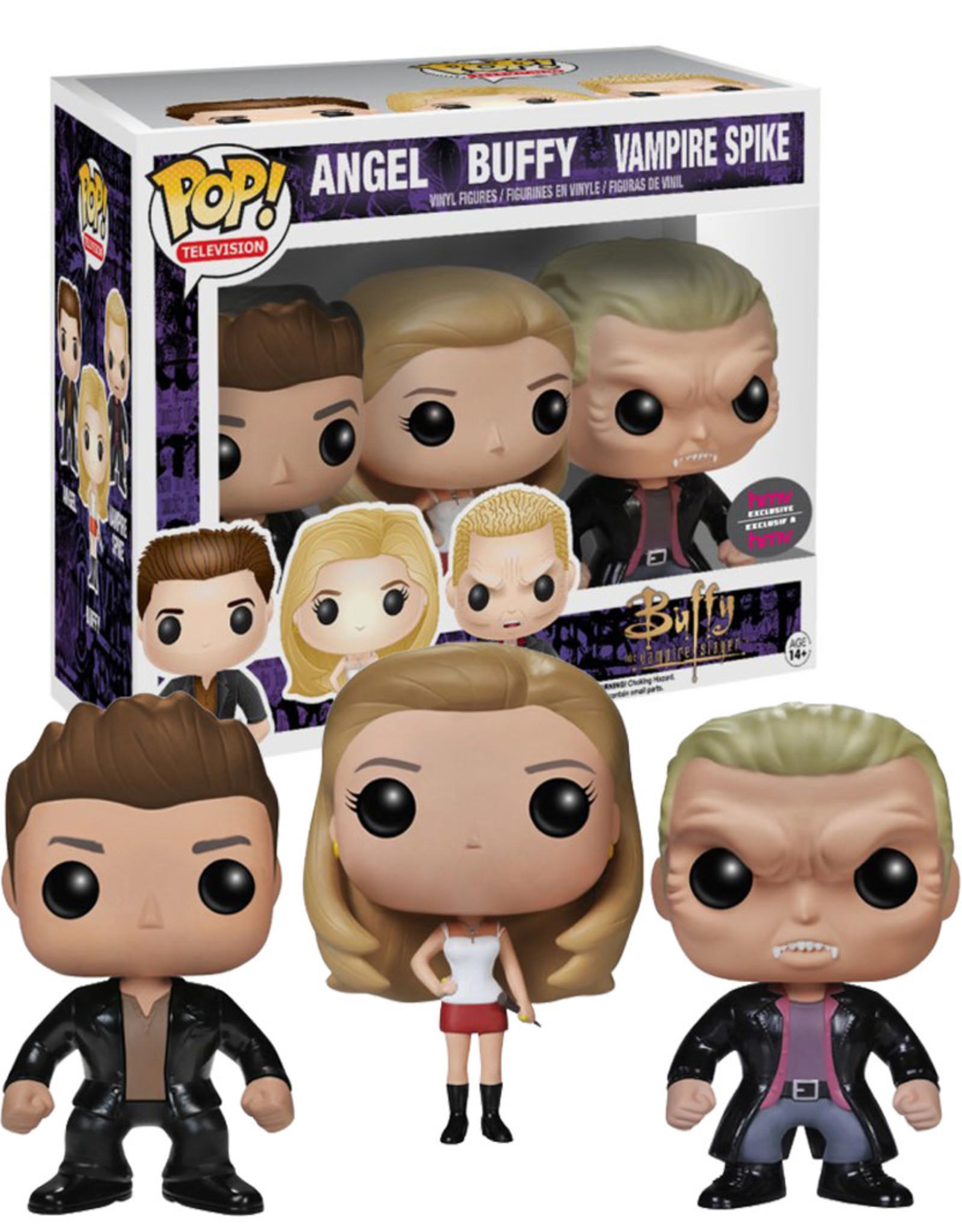 Buffy ( Funko Pop ) Angel , Buffy , Vampire Spike