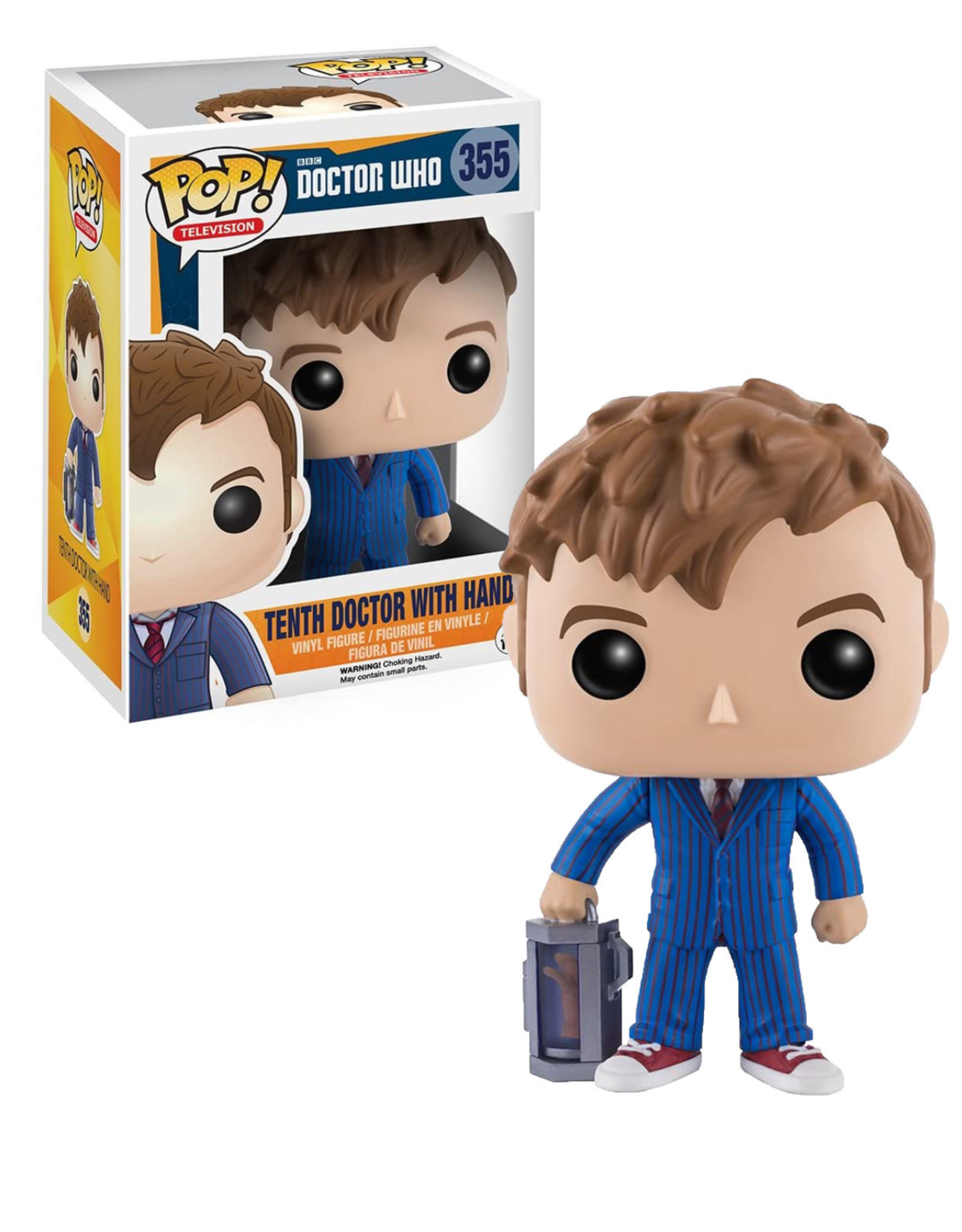 Doctor Who 355 ( Funko Pop ) Tenth Doctor
