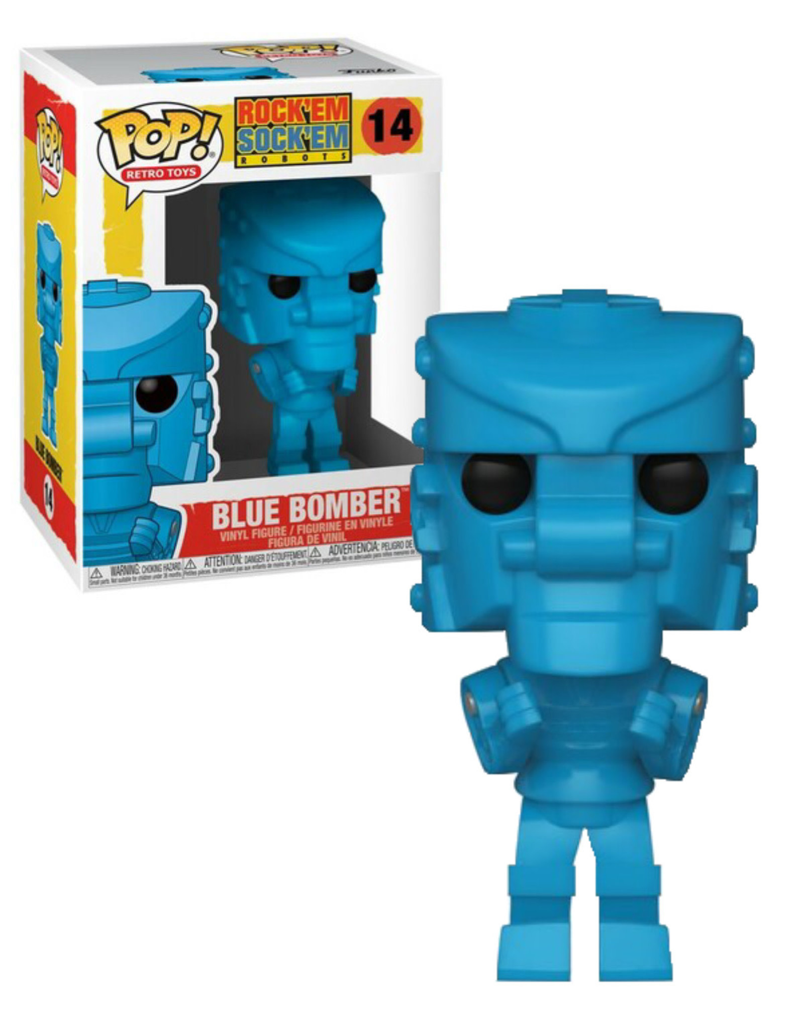 Rock'em Sock'em 14 ( Funko Pop ) Blue Bomber