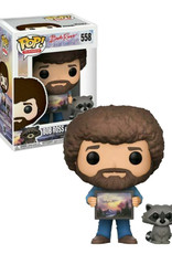 Bob Ross 558 ( Funko Pop ) Bob Ross and Racoon