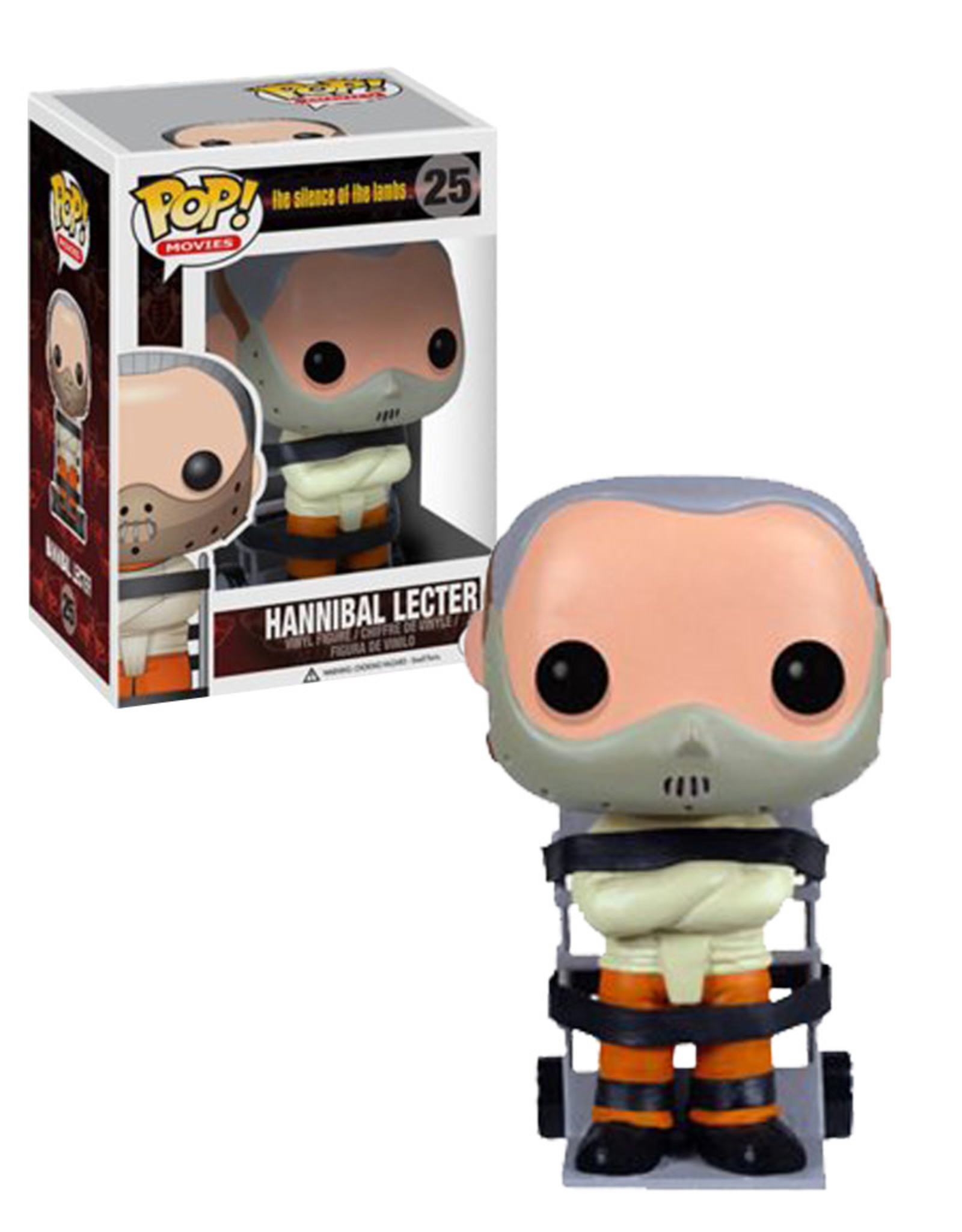 The Silence of the Lambs  25 ( Funko Pop ) Hannibal Lecter
