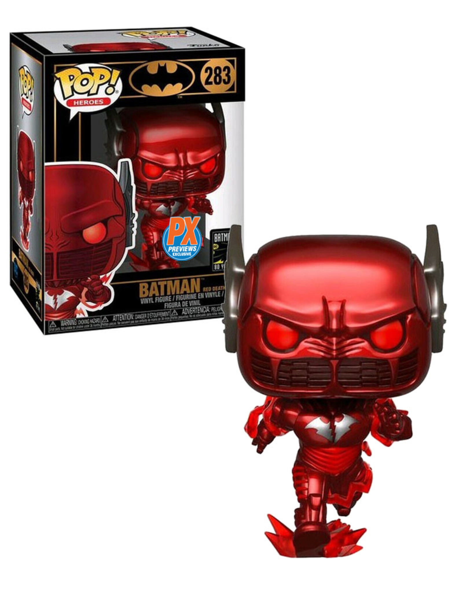 Dc comics Dc Comics 283 ( Funko Pop ) Batman Red Death