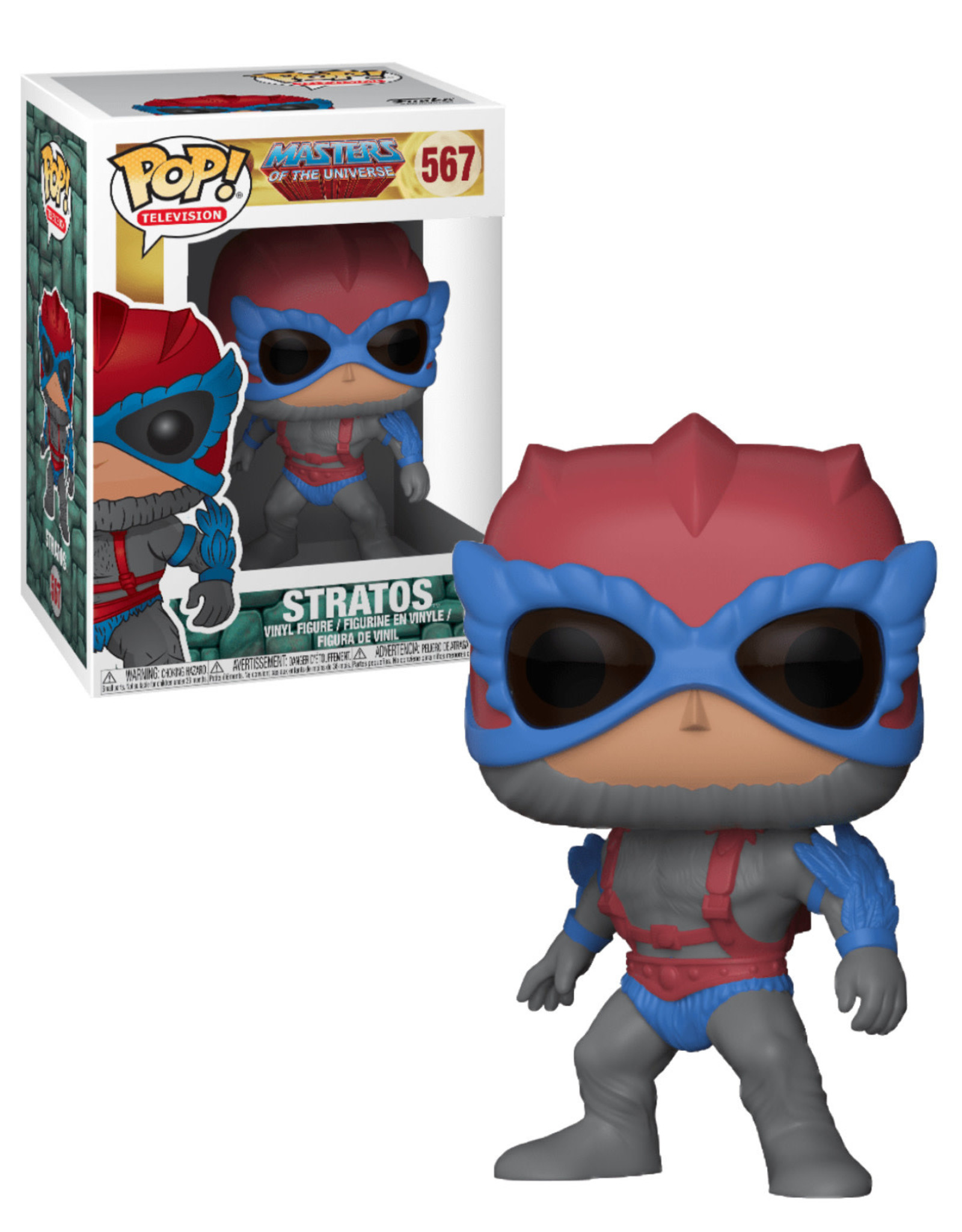 Master of the Universe 567 ( Funko Pop ) Stratos