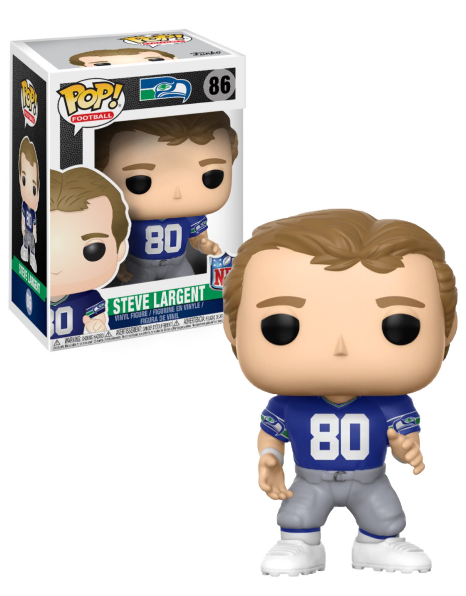 NFL 86 ( Funko Pop ) Steve Largent