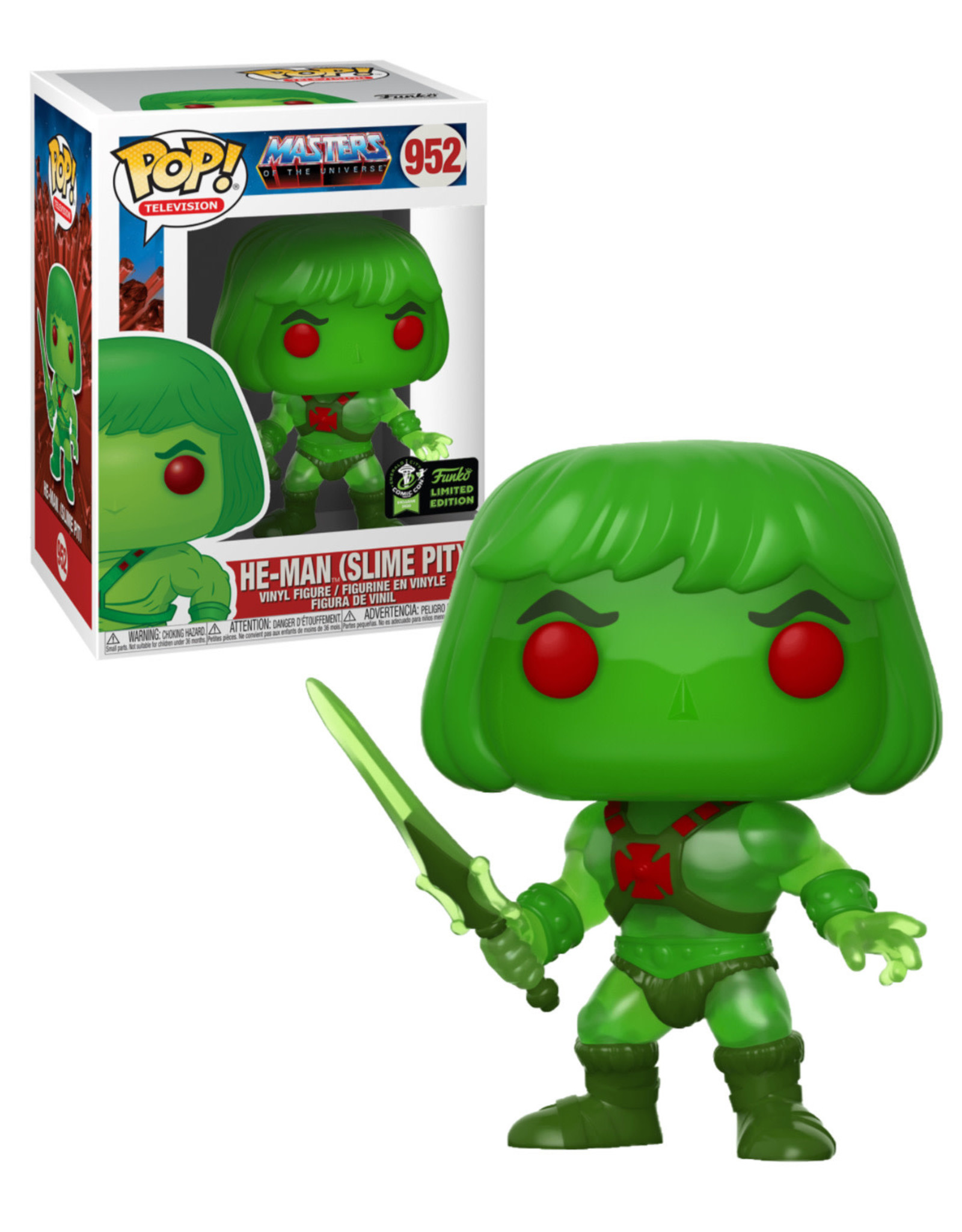Master of the Universe 952 ( Funko Pop ) He-Man ( Slime Pit )