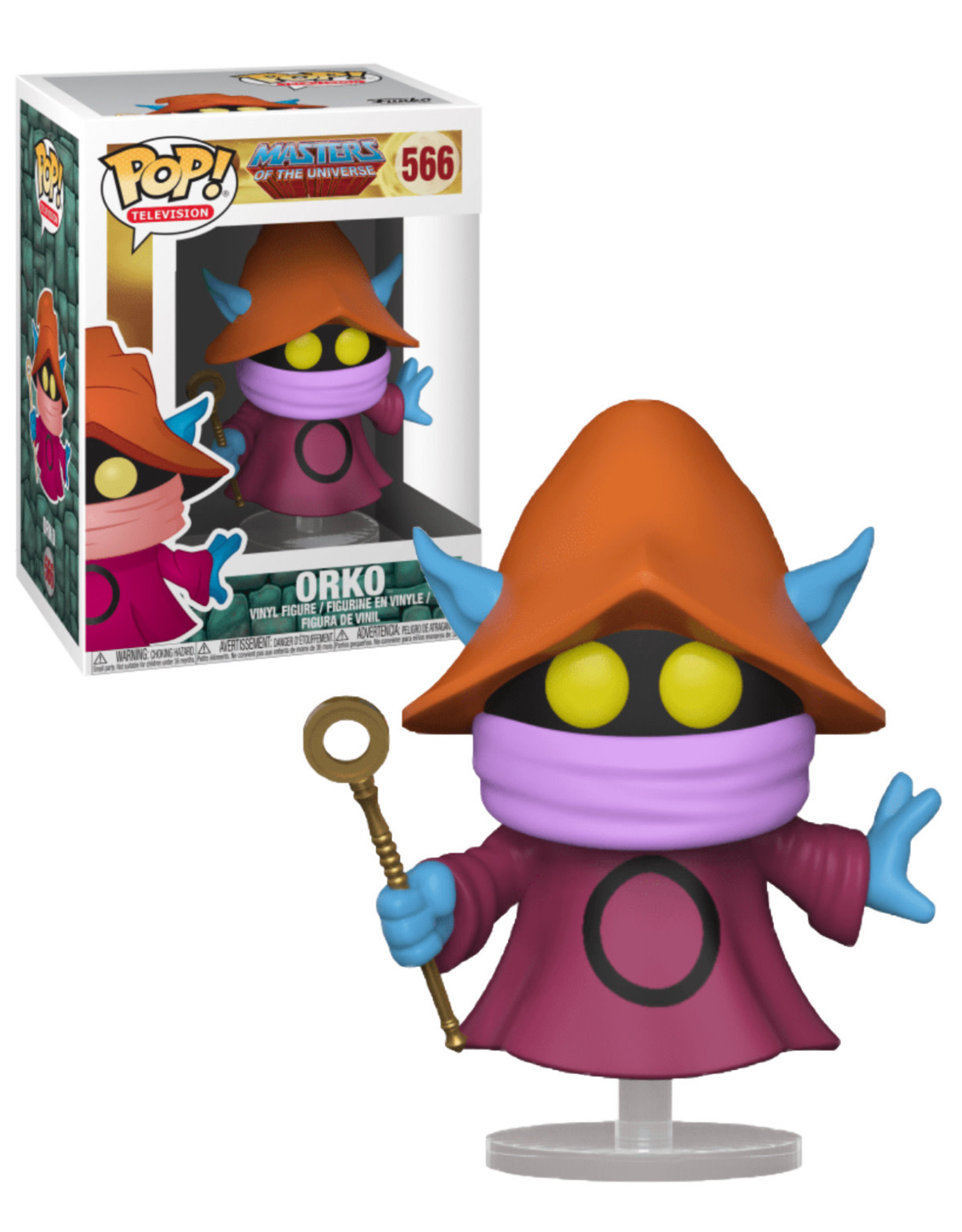 Masters of the Universe 566 ( Funko Pop ) Orko