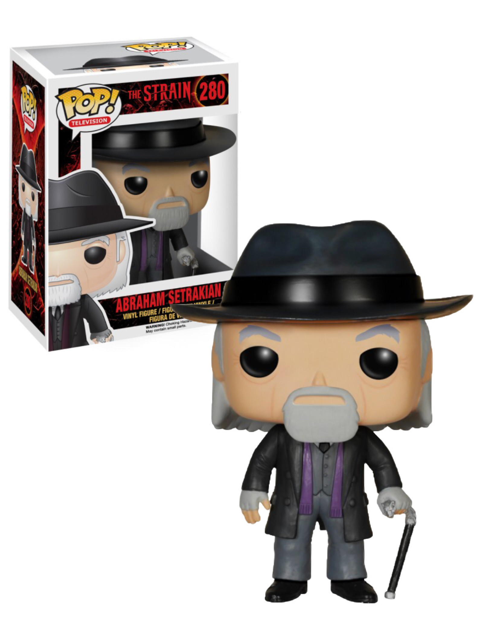 The Strain 280 ( Funko Pop ) Abraham Setrakian