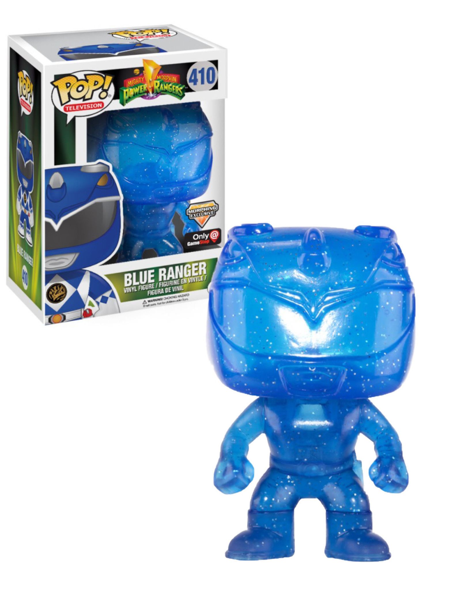 Power Ranger 410 ( Funko Pop ) Blue Ranger