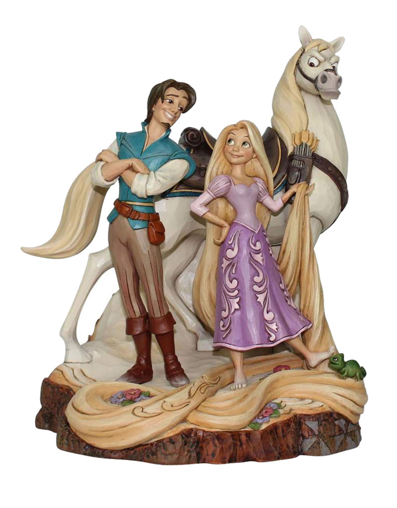 Disney ( Disney Traditions Figurine )  Rapunzel & Maximus
