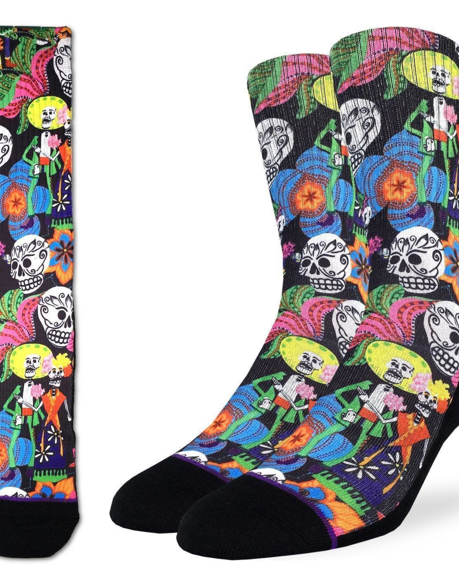 Skulls ( Bas Good Luck Sock )
