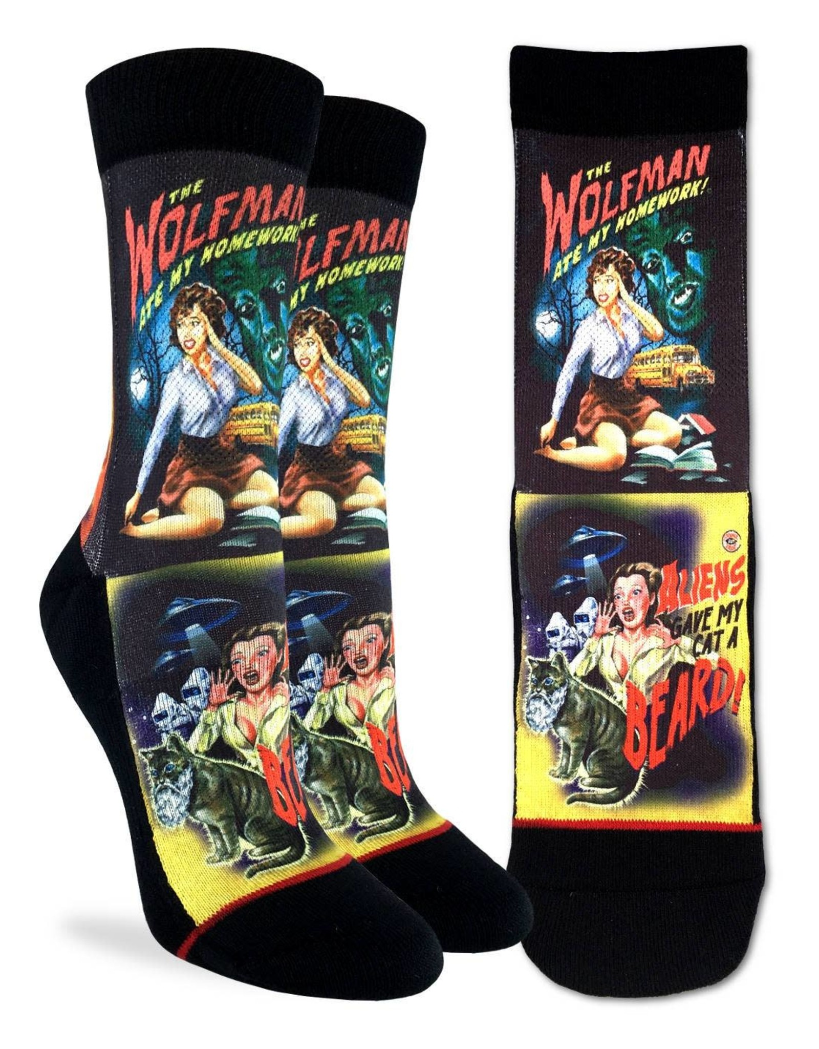 Movie Horror Posters  ( Bas Good Luck Sock )
