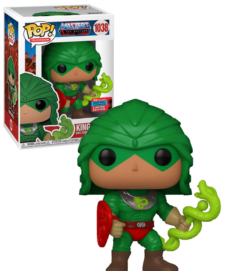 Masters of the  Universe 1038 ( Funko Pop ) King Hiss
