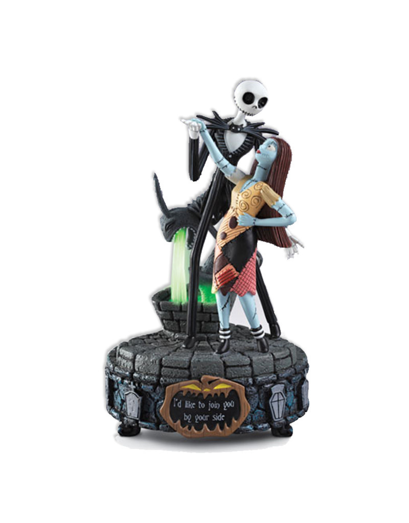 The Nightmare Before Christmas The Nightmare Before Christmas ( Musical Figurine ) Join you by your Side