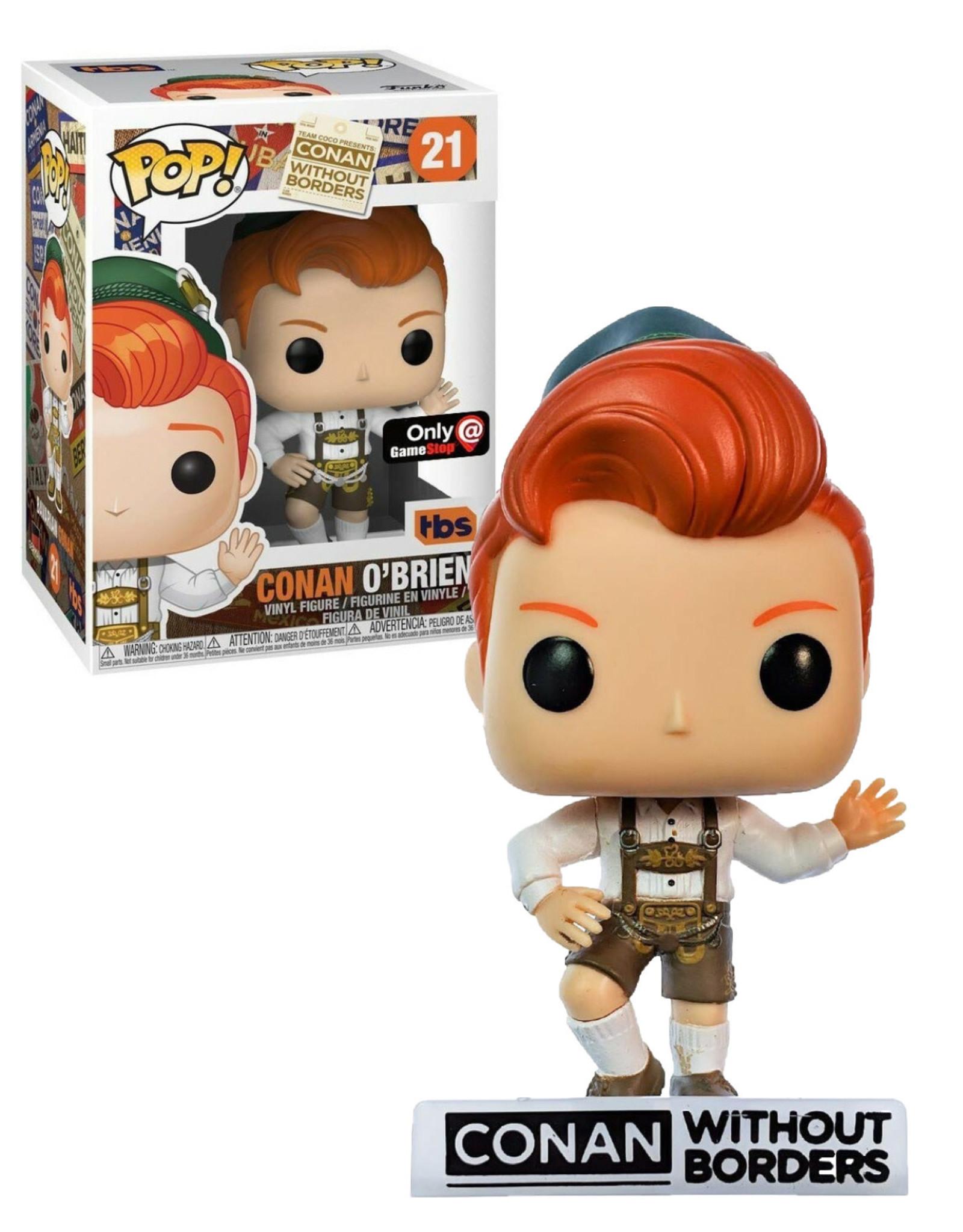Conan Without Borders 21 ( Funko Pop ) Conan O'Brien