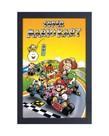 Super Mario Kart ( Framed print) Retro
