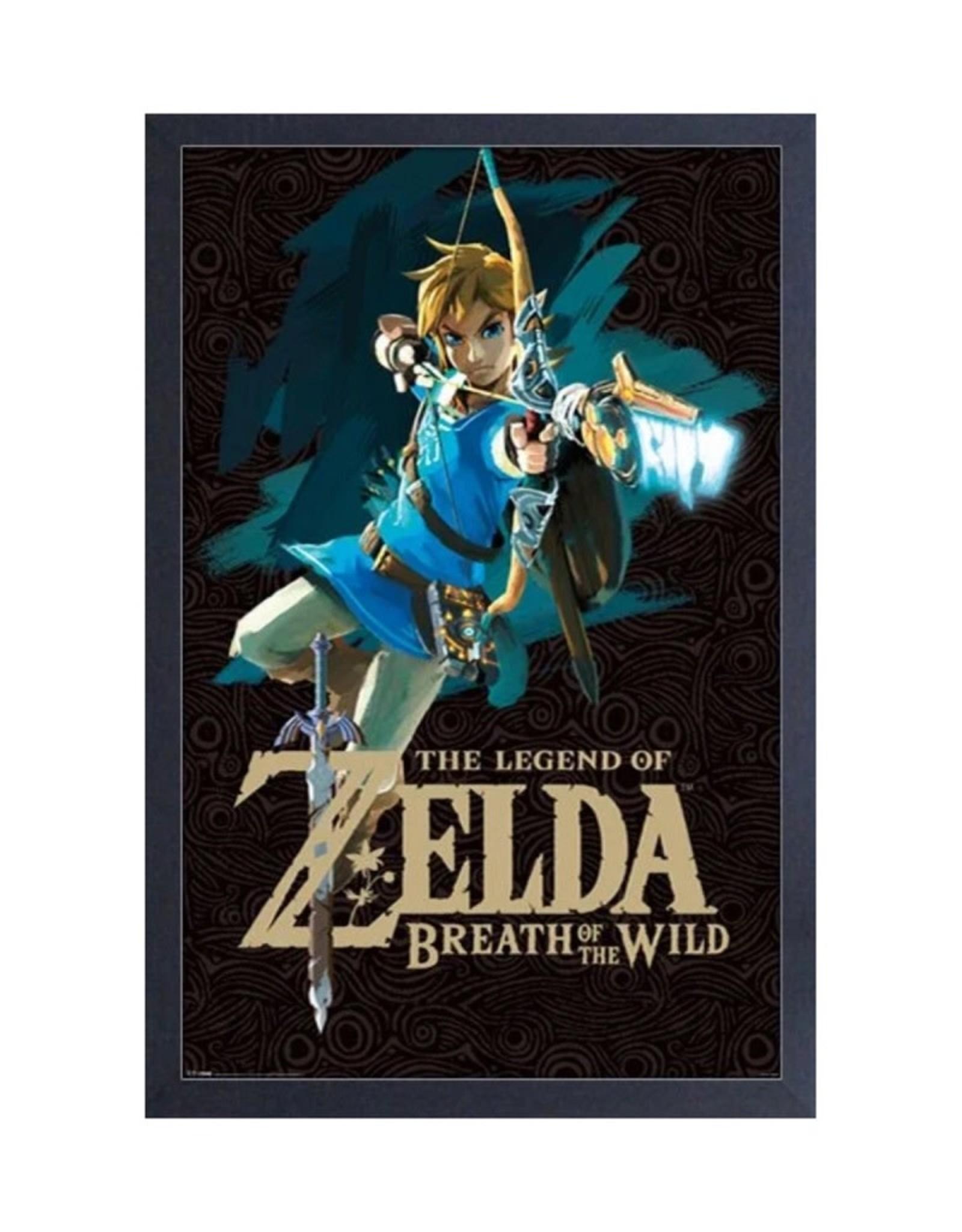 Zelda ( Framed print ) Link with Bow
