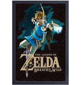 Zelda ( Cadre ) Link avec son arc