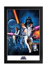 Star Wars ( Framed print ) New Hope